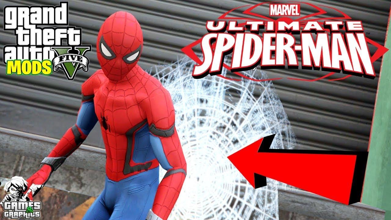 How to Install JulioNIB's New Spiderman Power Script (GTA 5 MODS)