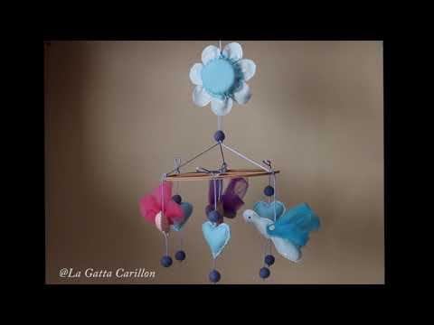 CARILLON PER CULLA FARFALLINE, carillon bimbo (Melodia: ninna nanna)