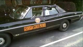 1968 ford custom 500 patrol car