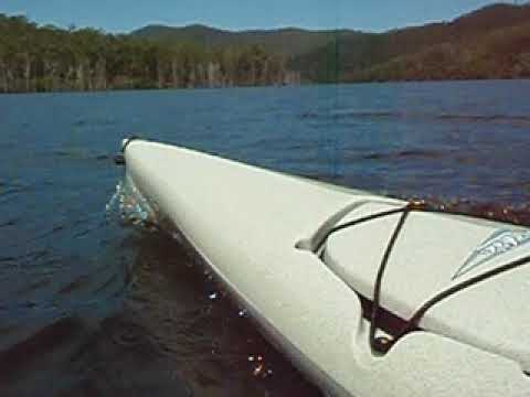 Hooking along on the Hobie Adventure Island Lake Borumba