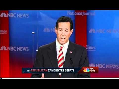 Santorum: Best Thing For Florida Economy Is To Pump More Oil