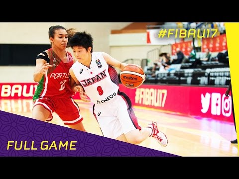 Japan v Portugal - Class 9-12 - Full Game - FIBA U17 Women's World Championship 2016