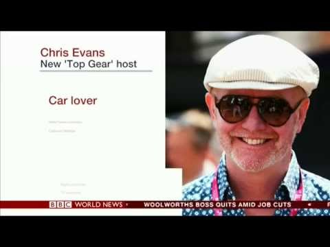 Chris Evans Replaces Jeremy Clarkson On Top Gear - BBC World News