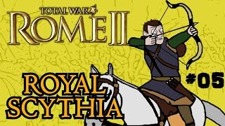 Total War: Rome 2 - Royal Scythian Campaign - Part 5 - Deadly Siege!