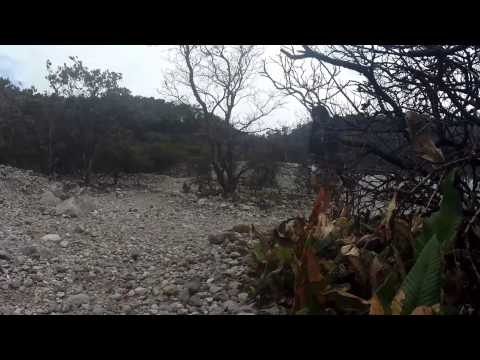 one day fun trip to Kawah Putih (white crater), Ciwidey + Aerial (HD)