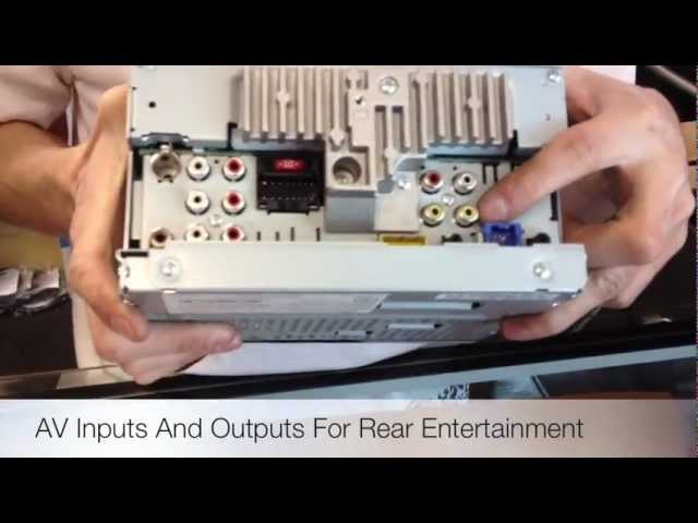 2012 Pioneer Electronics AVH-P2400BT Bluetooth DVD Radio - YouTubeYouTube