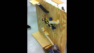 Our coin in a pig Rube Goldberg