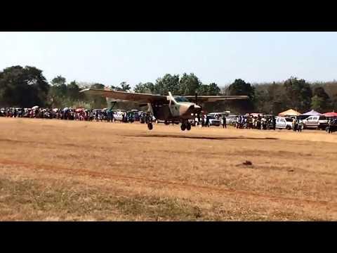 T-337,O-2 Cessna Skymaster NAVY THAI (บ.ตช๑)LANDING