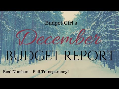December Budget Report - 74% funded BS3!