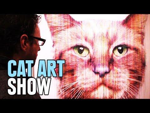 Definitive Proof That All Art Should Be Cat Art
