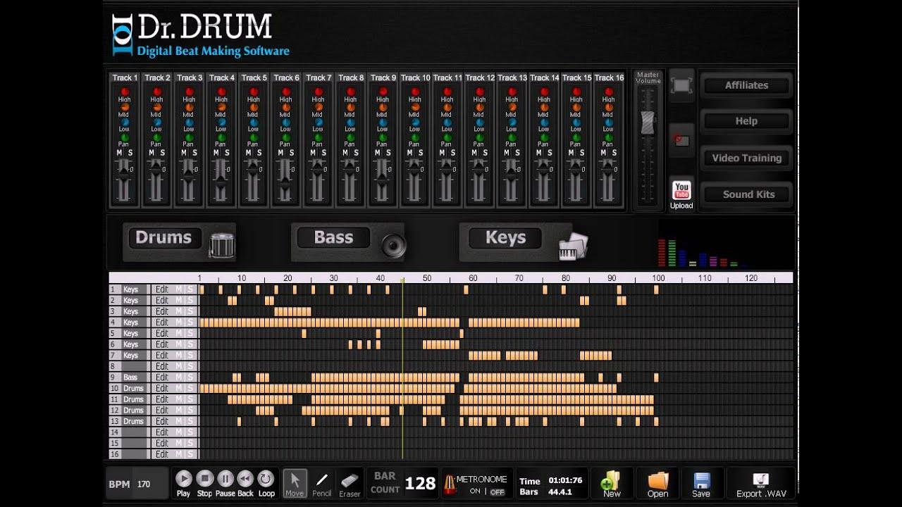 drum and bass software dr drum youtube. Black Bedroom Furniture Sets. Home Design Ideas