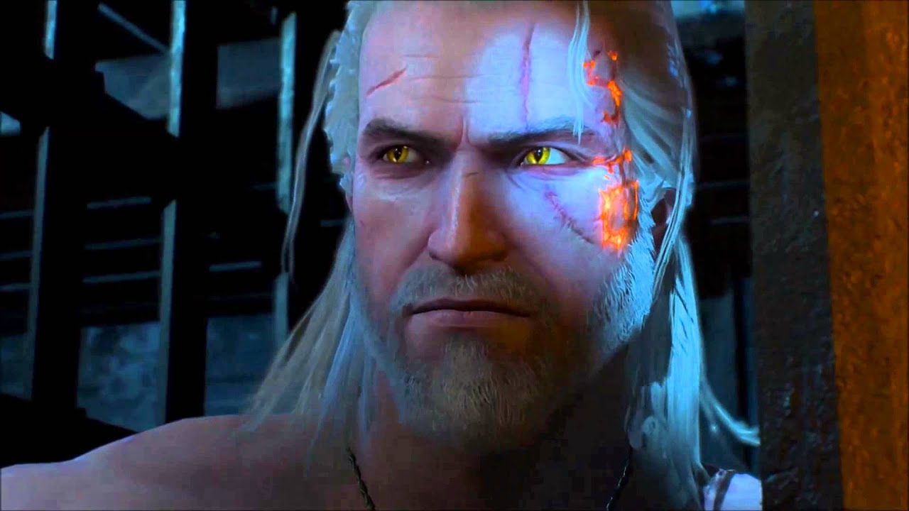 Witcher 3 Hearts Of Stone How Geralt Got The Rune Marks On His Face