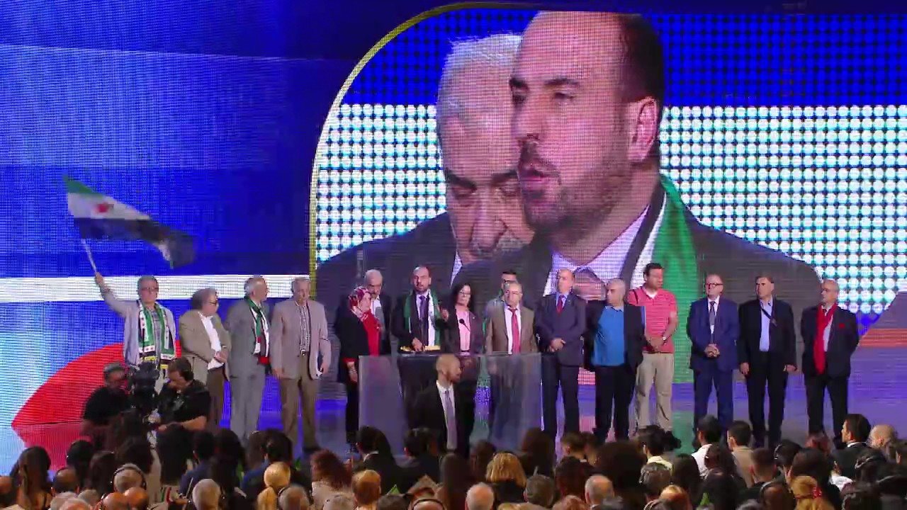 Speech by Nasr Al-Hariri from the Syria in the Free Iran Gathering July  2017 in Paris