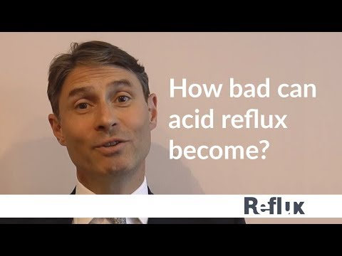 Nick Boyle explains how reflux affects the lives of those suffering with the disease