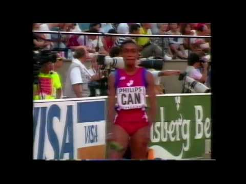 3715 World Track & Field 1991 4x400m Women