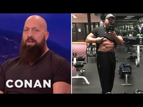 How The Big Show Got His Six-Pack  - CONAN on TBS