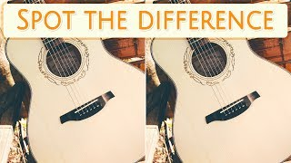 [ Brain games ] ( 3 ) Ep.012 Things_instrument_guitar_01 | Spot the difference | photo puzzles