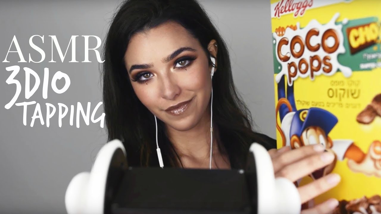 ASMR 3DIO Tapping Session for 1000000 Tingles!