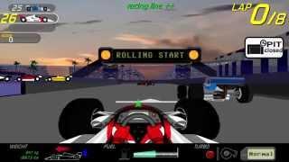 Indy Racing Symphony, Flash Game Walkthrough