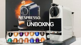 VLOG | 네스프레소 시티즈 커피머신 언박싱 Nesp…