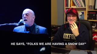 N J  school admin sings snow day call to