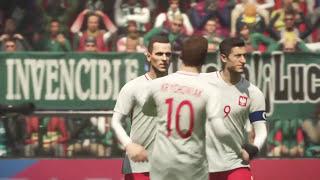 Mexico vs Polonia  amistoso internacional
