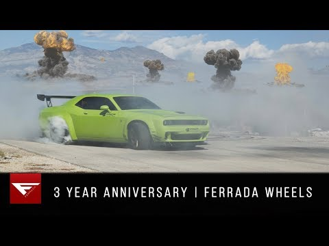 3 Year Anniversary | Ferrada Wheels | Burnouts and.....