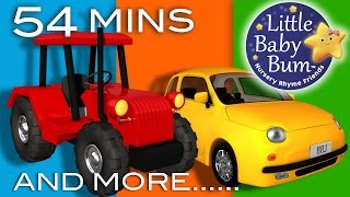 Vehicle Songs | Little Baby Bum | Buses, Cars, Trains, Boats and More | Nursery Rhymes for Babies thumbnail
