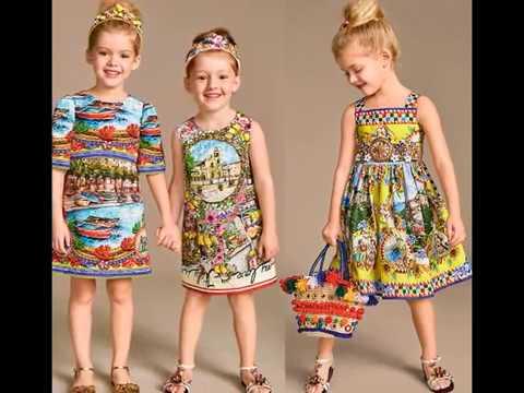 05568de2d2a23d0 Детские летние платья для девочек. Модные платья