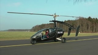 """Une """"voiture volante"""" testée avec succès aux Pays-Bas"""
