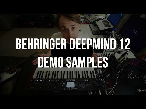 2019 #4 Behringer DeepMind 12 Demo Samples - сэмплы синтезатора