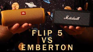JBL Flip 5 VS Marshall Emberto…