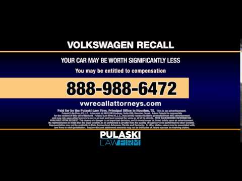 Pulaski Law Firm Volkswagen Recall Attorneys - File Your Claim Now!
