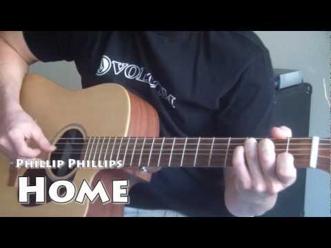Phillip Phillips - Home SUPER EASY Guitar Tutorial