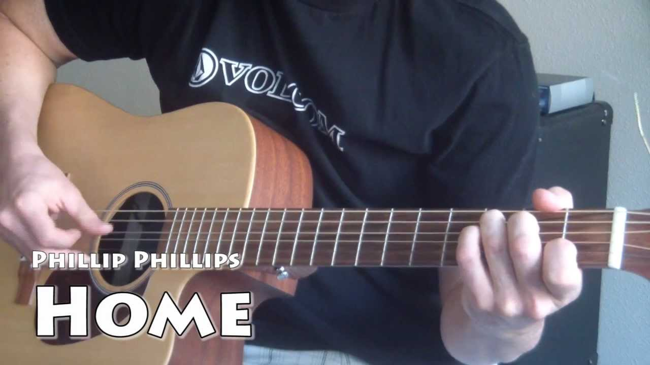 Phillip Phillips Home Super Easy Guitar Tutorial Youtube