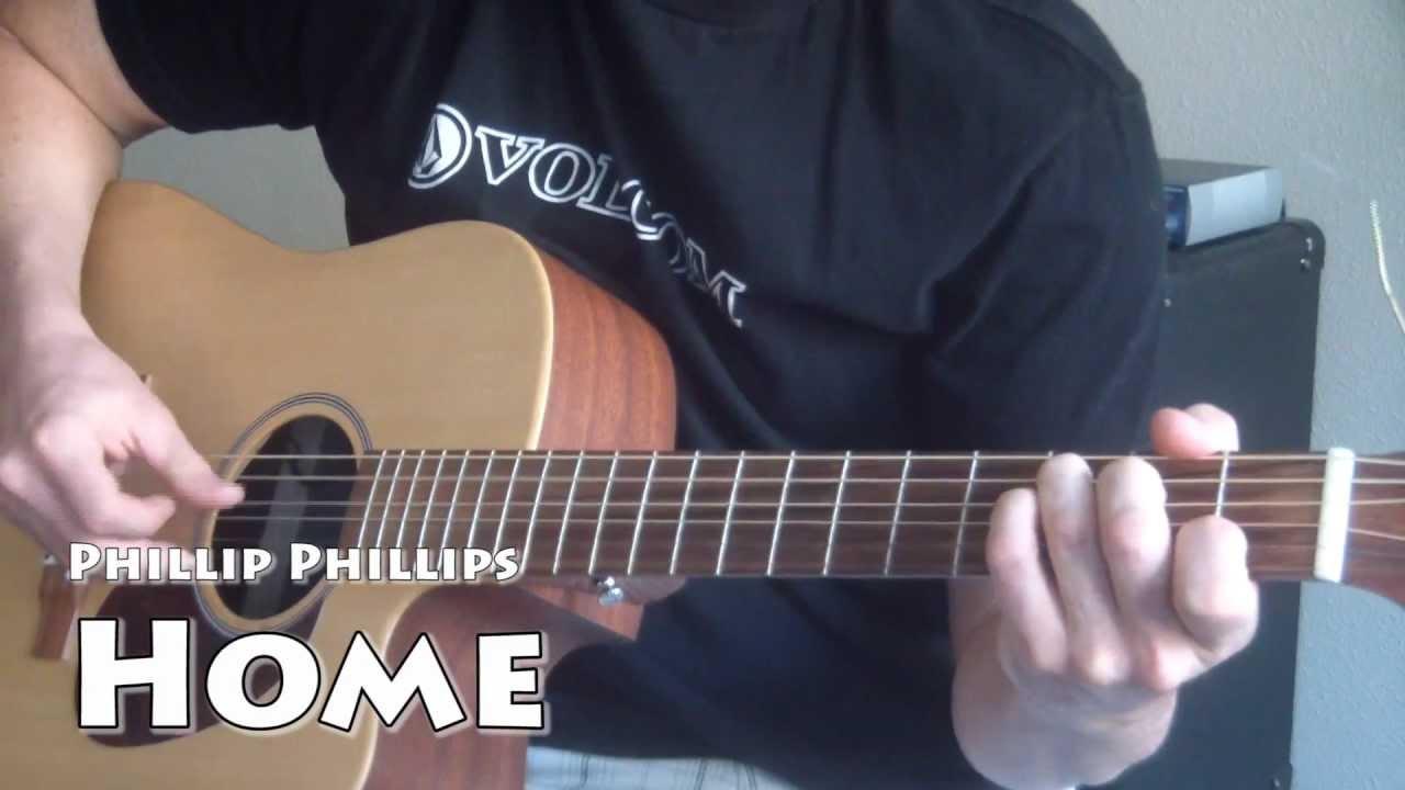 Phillip Phillips Home Super Easy Guitar Tutorial Youtube