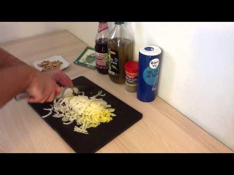préparer-une-salade-d'endive-aux-noix-et-au-roquefort---recette-salade