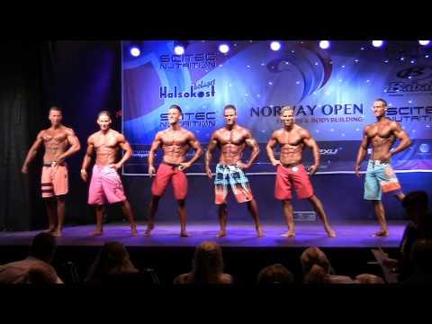 Norway Open 2014   Men's Physique + 178 cm