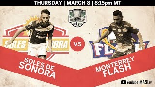 Soles de Sonora vs Monterrey Flash