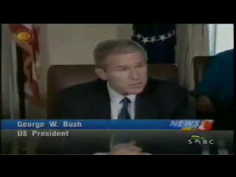SABC (South African Broadcasting Corporation) news output on September 11th 2001 - USA