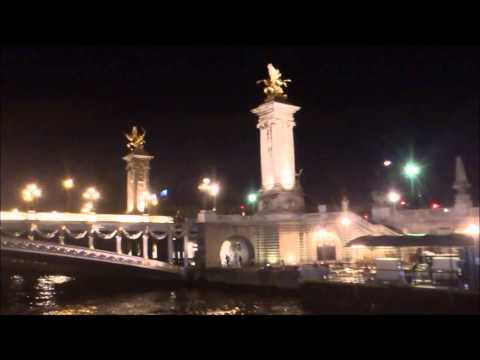 Summer 2014, vacation in France. Paris day&night seen from the Seine river