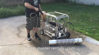 cleaning a t2 twister trimmer time lapse