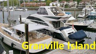 Granville Island 之加拿大疫情解封,冒着作死的风险放风,跑去瞧瞧!