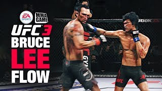 FLOWING with BRUCE LEE on Ranked EA SPORTS UFC 3