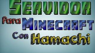 como hacer un server en minecraft 1.8.X con hamachi facil y rapido!