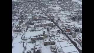 Lot zimowy nad Łosice