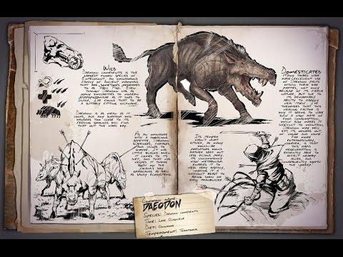 ark survival evolved dino dossier daeodon youtube. Black Bedroom Furniture Sets. Home Design Ideas
