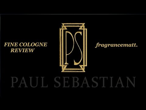 "MFO: Episode 58: PS Fine Cologne by Paul Sebastian (1979) ""The Fine One"""