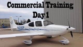 Commercial Training Day 1 || Cirrus SR20