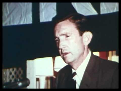 Ramsey Clark discusses poverty in cities 1968